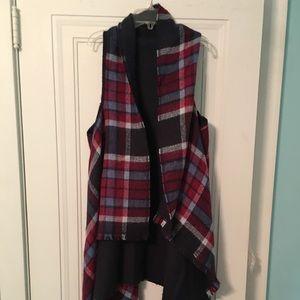 Fall Plaid Francescas Vest